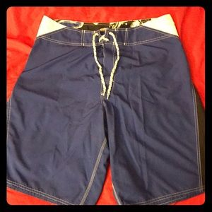 Men's Swim Board Shorts Size 34